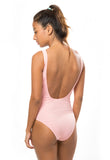 SOLID SPORTY ONE PIECE - STARLET PINK - Fashion Market.LK