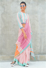 Load image into Gallery viewer, Urban Drape Candy Coated Saree