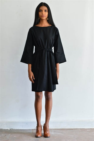 Working Girl Kimono Wrap Dress