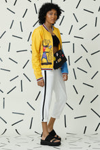 Load image into Gallery viewer, Deranged Mustard Polka Bomber Jacket - Fashion Market.LK