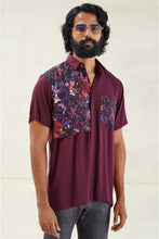 Load image into Gallery viewer, Abstract Floral Casual Short-Sleeve Shirt