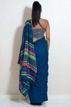 Load image into Gallery viewer, Urban Drape Neon Splash Sarees