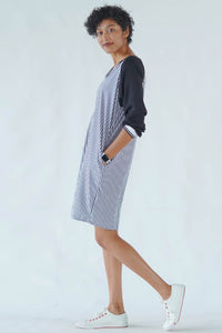 Grace and Hustle Stripe Shift Dress