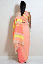 Load image into Gallery viewer, Urban Drape Neon Rush Saree
