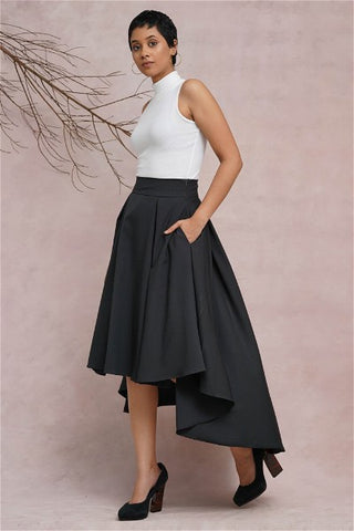 Retro Wrap Skirt