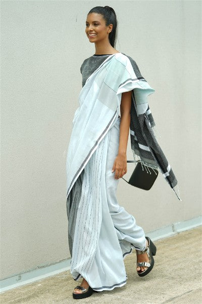 Urban Drape Ultra Simple Active Saree