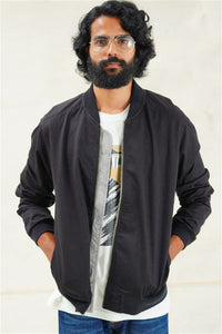 Abstract Landscapes Bomber Jacket