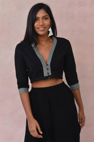 Girl Power Crop Blouse