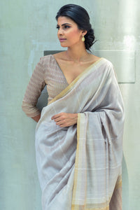 Urban Drape Sable Sand Saree