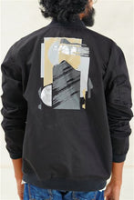 Load image into Gallery viewer, Abstract Landscapes Bomber Jacket