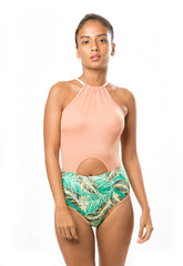High Neck - Bronzer One Piece