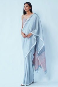 Urban Drape Cloudy Ray Saree