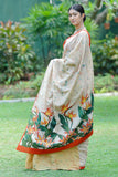 Urban Drape Hawaii Heliconia Saree -Shipping From 9th December