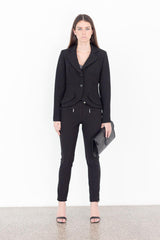 Black Two Button Blazer