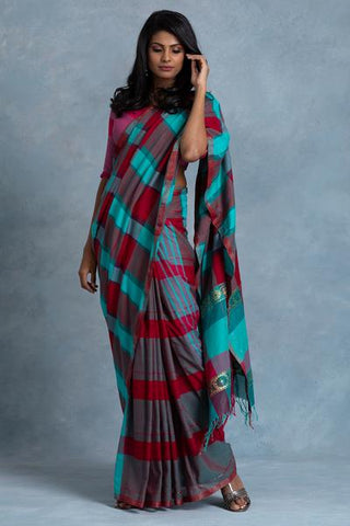 Urban Drape Ambiguous Splash Saree
