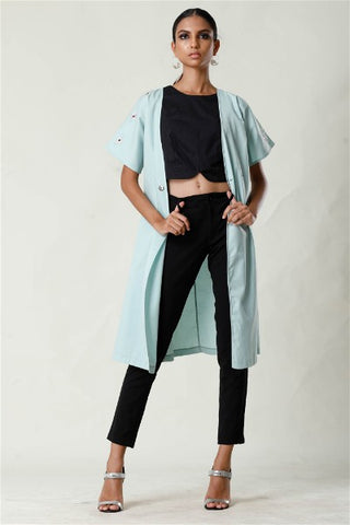 Reversible Retro Bolero Coat