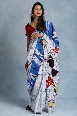 Urban Drape Beach Waves Saree