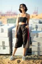 Load image into Gallery viewer, Black Candy Crop Pants