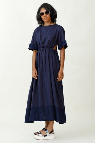 Blithe Linen Maxi Dress