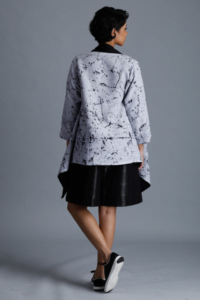 Reversible Batik Handloom Cardigan - Fashion Market.LK