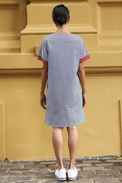 Ceylon shift dress - Fashion Market.LK