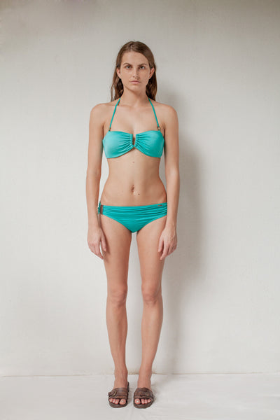 Turquoise two-piece