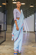 Load image into Gallery viewer, Urban Drape Ms. Cambridge Saree