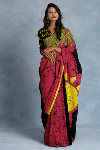 Urban Drape Elephant Safari Saree