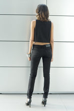 Load image into Gallery viewer, Asymmetric Sleeveless Blouse - Black - FMLK
