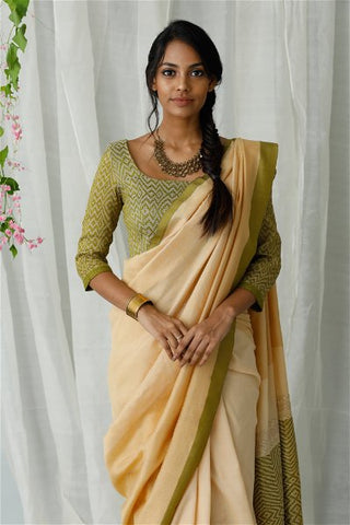 Urban Drape Fern Grass Saree