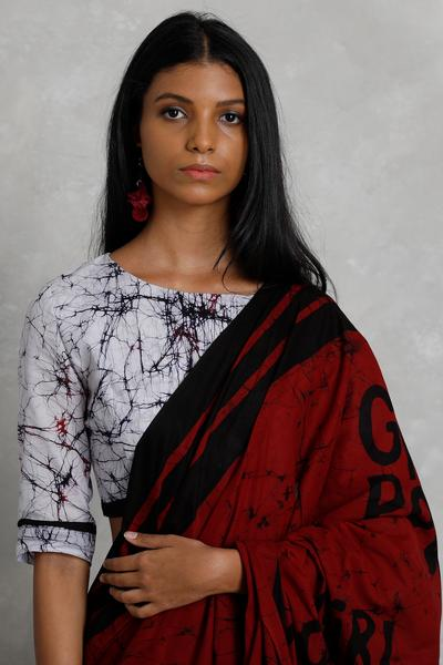 Urban Drape Girl Power Saree