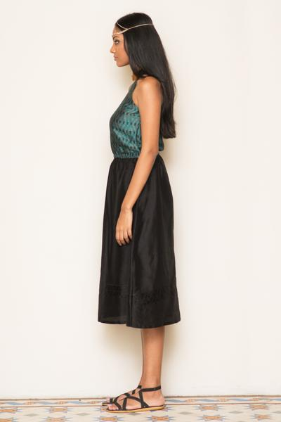 Hand Woven Maxi Dress - Fashion Market.LK