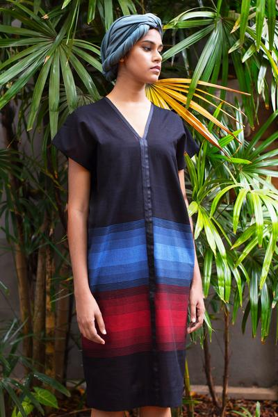 Handloom Kaftan Dress - Fashion Market.LK