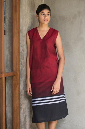 Handloom tunic dress - Fashion Market.LK