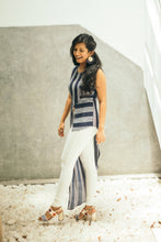 Load image into Gallery viewer, Alyssa Asymmetric Stripe Top