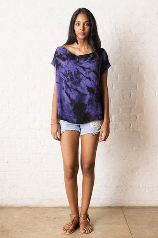 Indigo Tunic Top