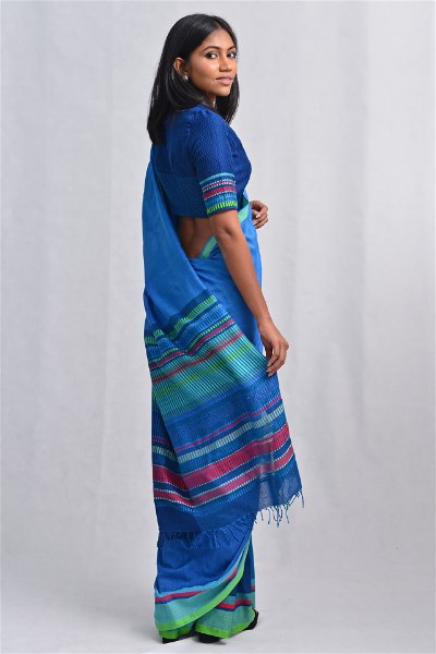Urban Drape Mediterranean Sea View Saree