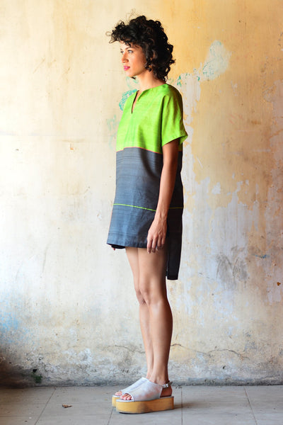 Neon Loose Fitted Tunic - Fashion Market.LK