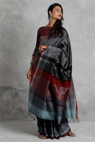 Urban Drape Night Shadows Saree