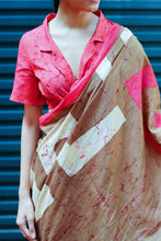 Load image into Gallery viewer, Urban Drape  Adinkra Motifs saree