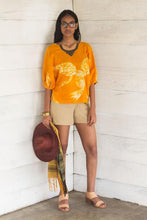 Load image into Gallery viewer, Orange Batik Top - FMLK