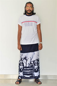 Preppy Colombo White Tee