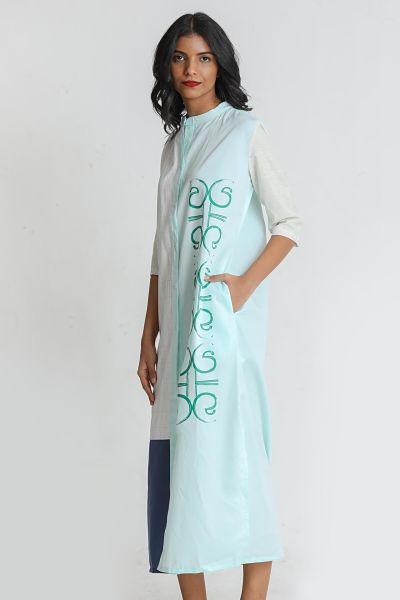 Patch Maxi Dress - Fashion Market.LK