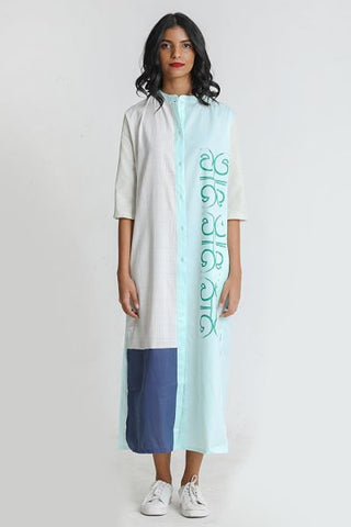 Patch Maxi Dress