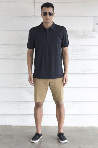 Navy Blue Polo T Shirt