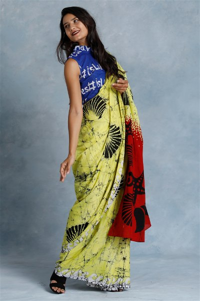 Urban Drape She Sells Sea Shells Saree