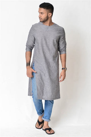 Swathe Grey Tunic
