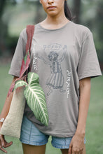 Load image into Gallery viewer, Andare of Taprobana khaki green T-shirt (unisex)