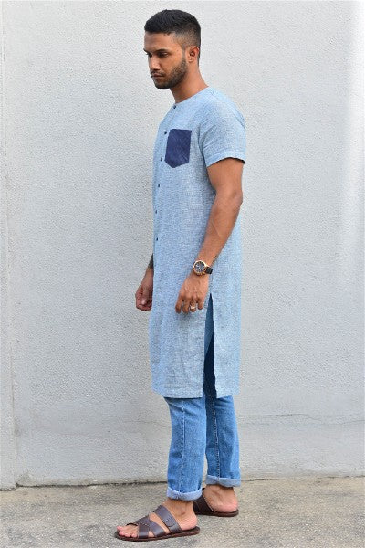 Textured Long Tunic