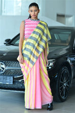 Load image into Gallery viewer, Urban Drabe Strong Stripes Saree